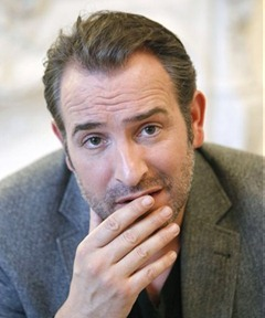 Jean Dujardin in -The Artist