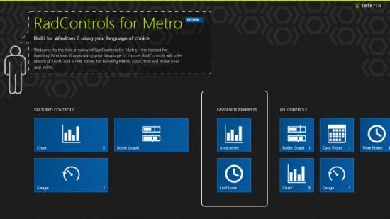 Telerik RadControls for Metro