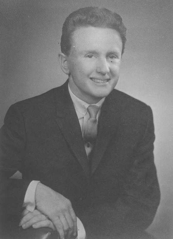 Studio portrait of Reed Erickson. 1962.