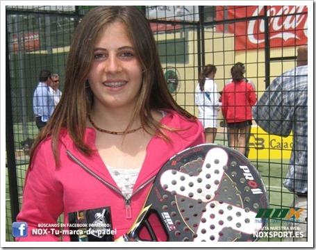 Agustina Flores, TEAM NOX, una campeona en progreso. Entrevista Diario de Cádiz.