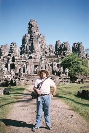 2002 Bayon Angkor Wat Cambogia Dupa 20 de ani