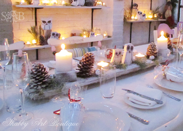 Shabby Art Boutique Woodland xmas 2