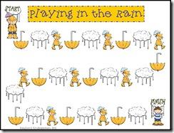 Rain Gameboard