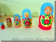 Homemade Present: Painted Nestling Dolls