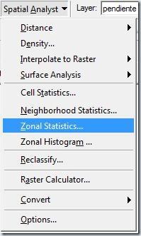 F1. Zonal Statistic