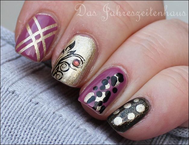 Skittle Nails 5