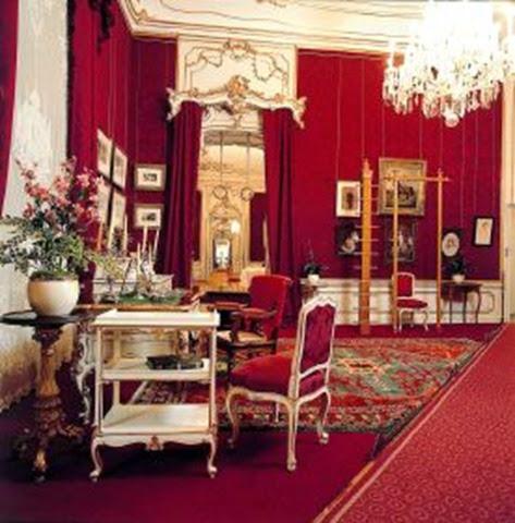 Habitacion  salón dormitorio de Sissi