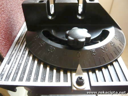 Rekacipta.net - Belt dan Disk Sander Angle Jig 09