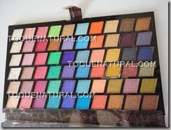 Paleta de Sombras com 120 Cores Brilhantes2