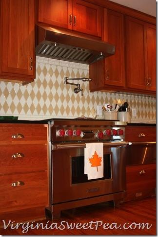 Drop Cloth Tea Towel for the Kitchen
