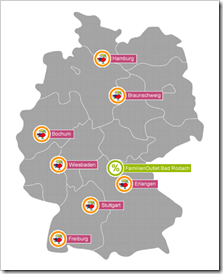 Jako-o store locations in Germany