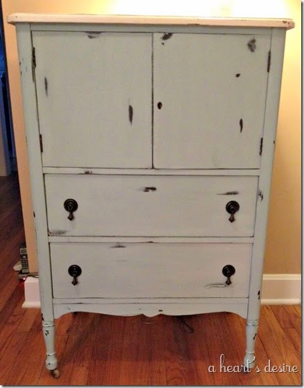 Painted Dresser After