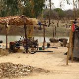 Cases le long du Bani (affluent du Niger)