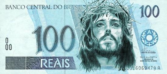 cem reais jesus