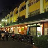 fukuoka dowtown in Fukuoka, , Japan