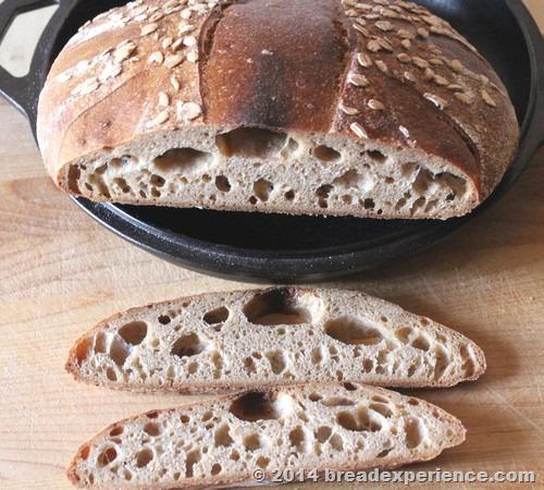 Ancient Grain Tartine