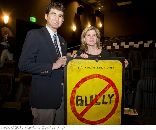 'Bully Advance Screening Hosted by First Lady Katie O'Malley' photo (c) 2012, Maryland GovPics - license: http://creativecommons.org/licenses/by/2.0/