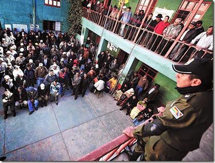 Huelgas en Bolivia