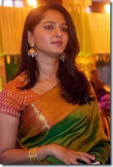 Actress Anushka @ Ravi Raghavendra Daughter's Wedding Photos