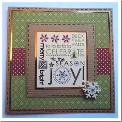 Stampin' Up Season of Joy