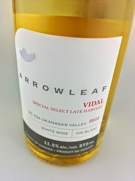 Arrowleaf 2013 Special Select Late Harvest Vidal