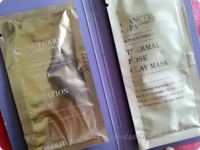 Sanctuary Active Reverse Facial 30 Day Thermal Transformation Mask 3