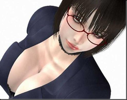 Lewd Bomb Bust Female Teacher 3D