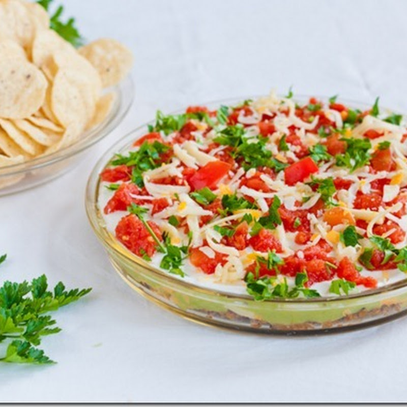 Baby Lima Bean Layer Dip