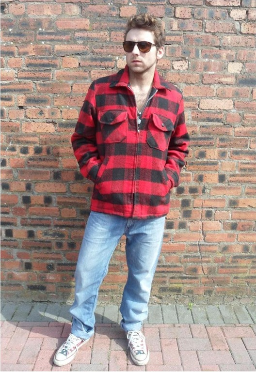 Lumberjack Jacket, £48, We to Boogie Vintage