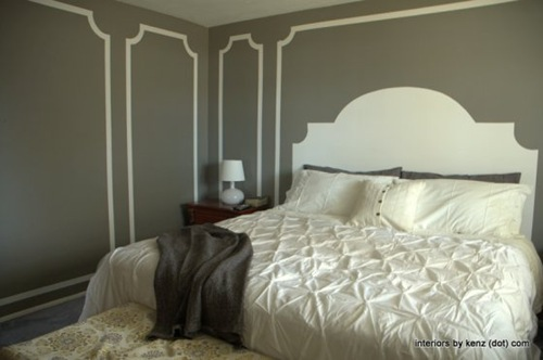 Faux Molding {Interiors by Kenz}