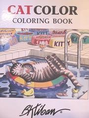 Kliban cat coloring book