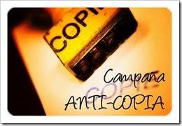 campaña anti copia
