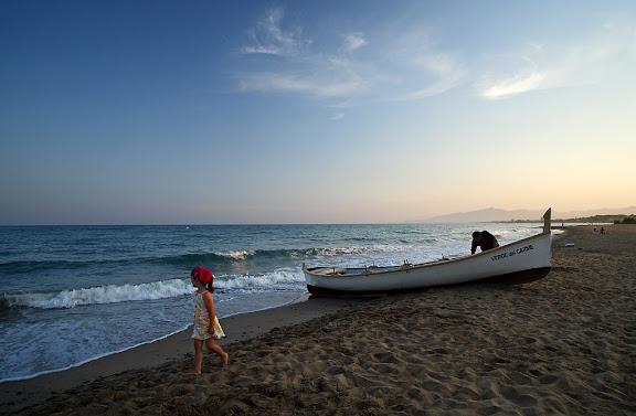 """""""L'ormeig, la pesca tradicional a Cambrils"""", mostra d'arts tradicionals de pesca,festes de Sant Pere,Cambrils, Baix Camp, Tarragona"""