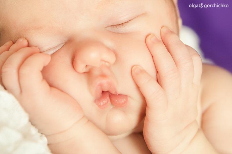 Фотосессия новорожденной в Гродно. Ксюша 2 недели_-10