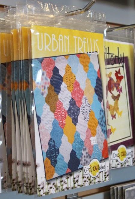 Urban Trellis Quilt Pattern