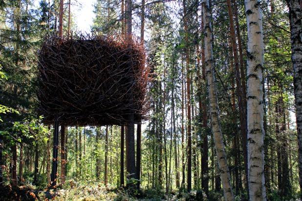 tree hotel by tham & videgard arkitekter 8