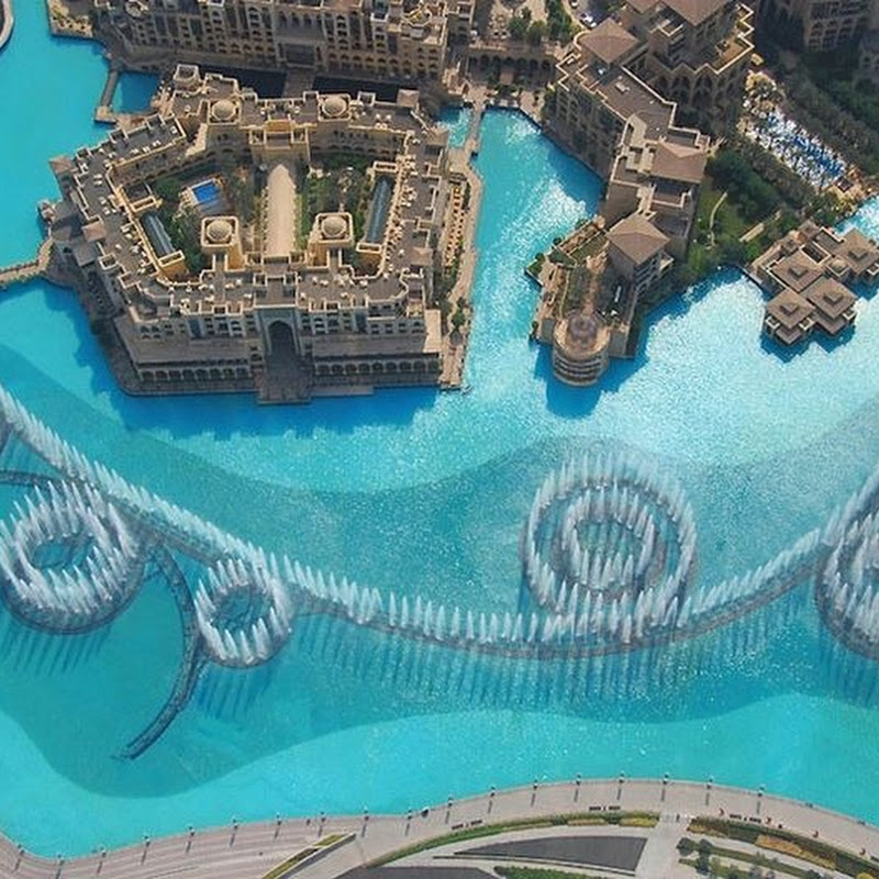 The Dubai Fountain - World's Largest Dancing Fountain