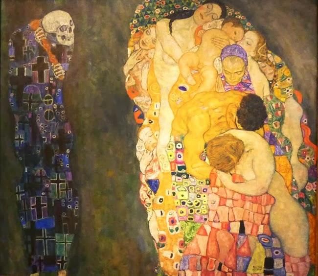 """""""Ζωή και θάνατος"""" του Gustav Klimt"""