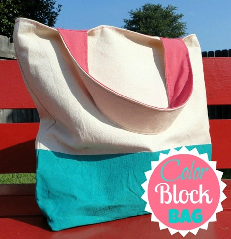 Color Block Bag 2