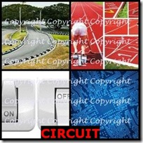 CIRCUIT- 4 Pics 1 Word Answers 3 Letters