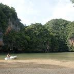 Hong (Lagune in der Insel) von Koh Hong