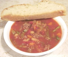 hamburg vegetable soup