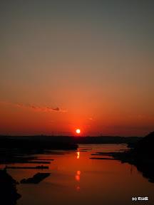 12/20撮影賢島大橋からの夕日です。