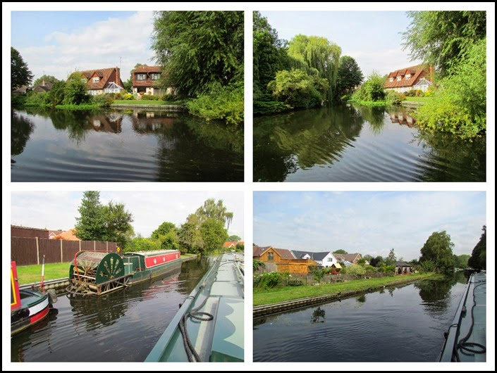 4 nice houses and paddlewheeler