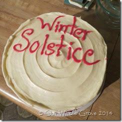 Solstice cake