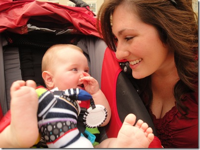 11.  Mommy and Knox