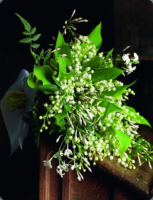 jasmine and lily of the valley bouquet shane connolly royal florist