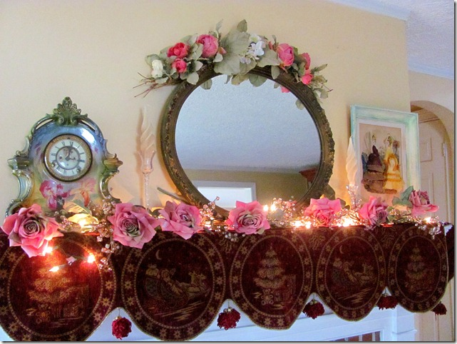 Elaine's mantel