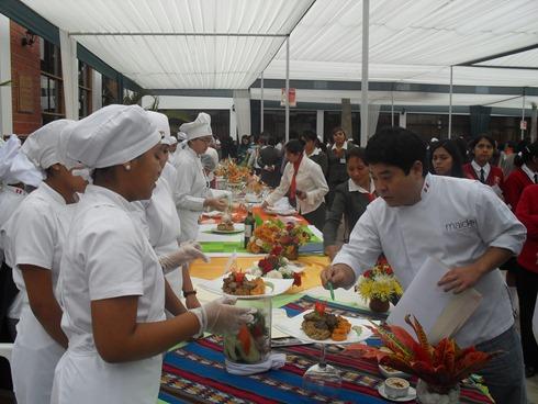 Mitsuharu Tsumura, uno de los miembros del jurado del concurso gastronómico a desarrollarse en Cañete