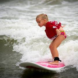 Riding the Wave by John Witcraft - Sports & Fitness Surfing